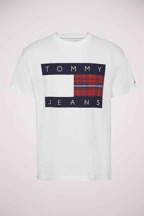 Tommy Jeans T-shirts (korte mouwen) wit DM0DM08791YBR_YBR WHITE img3