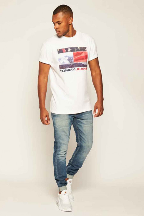 T-shirts (korte mouwen) wit DM0DM08793YBR_YBR WHITE img2
