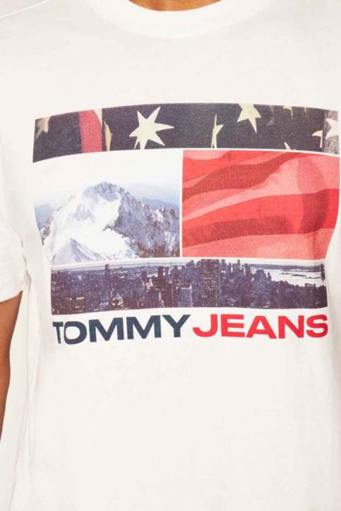 T-shirts (korte mouwen) wit DM0DM08793YBR_YBR WHITE img4