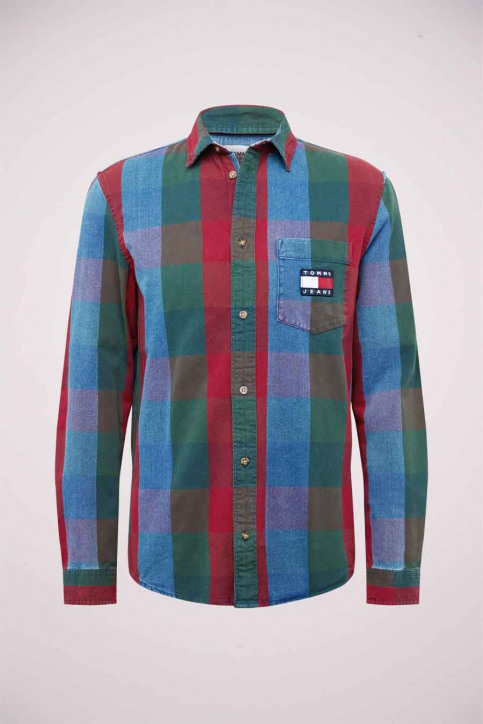 Tommy Hilfiger Hemden (lange mouwen) denim DM0DM093991A5_1A5 MID INDIGO img5