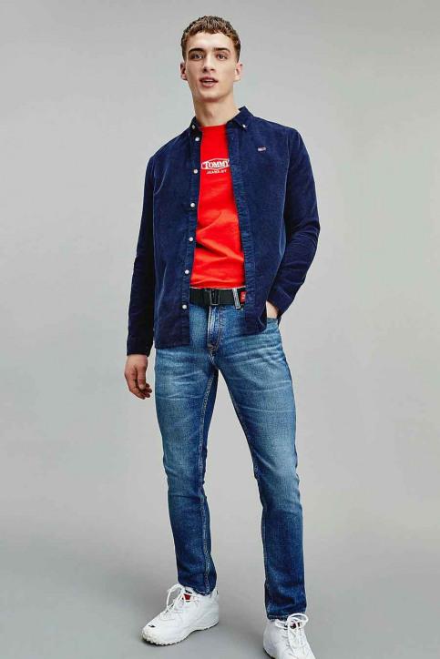 Tommy Jeans Hemden (lange mouwen) blauw DM0DM09503C87_C87 TWILIGHT NA img1