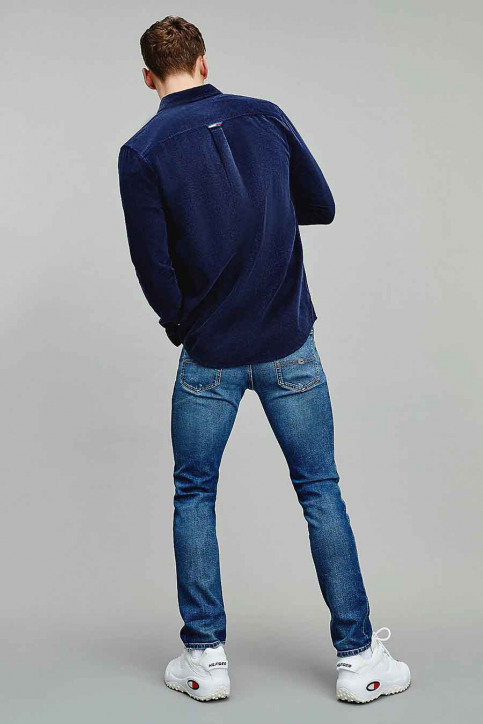 Tommy Jeans Hemden (lange mouwen) blauw DM0DM09503C87_C87 TWILIGHT NA img2