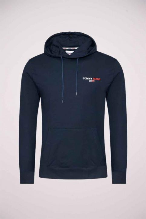 Tommy Jeans Truien met kap blauw DM0DM09593_BDS BLACK img3