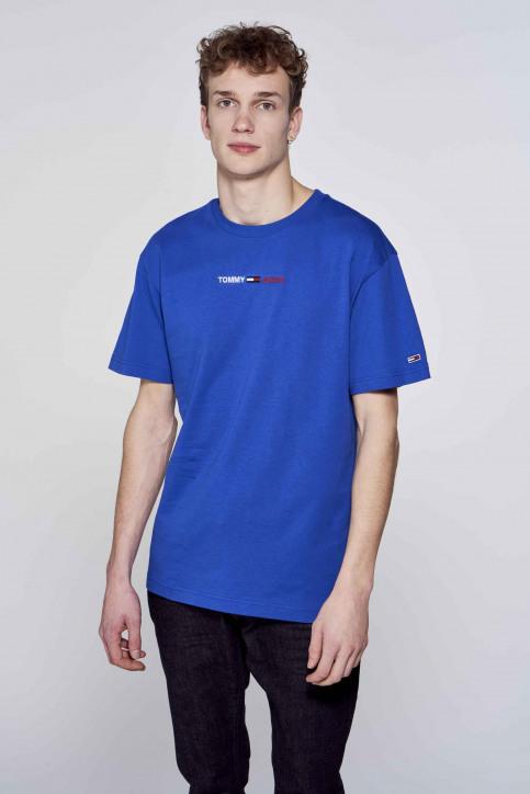 Tommy Jeans T-shirts (korte mouwen) blauw DM0DM10219C65_C65 COBALT img2