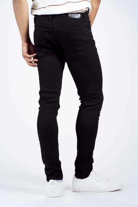 DENIM PROJECT Jeans slim noir DP1000001_001 BLACK img3