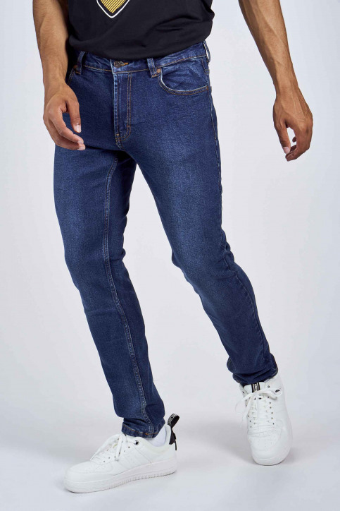 DENIM PROJECT Jeans slim denim DP1000043_043 DARK BLUE img4
