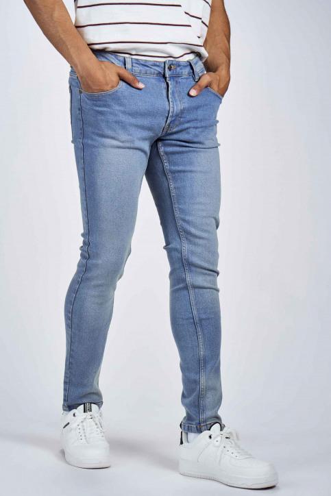 DENIM PROJECT Jeans slim denim DP1000044_044 LIGHT BLUE img4