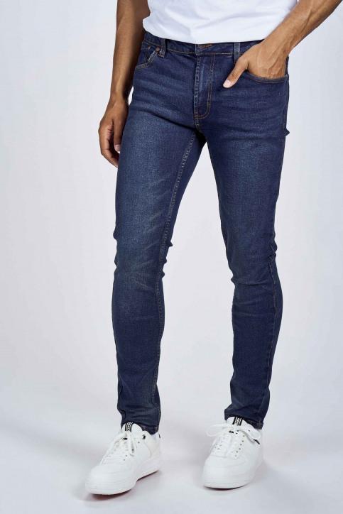 DENIM PROJECT Jeans slim denim DP1000045_045 VINTAGE BLU img1