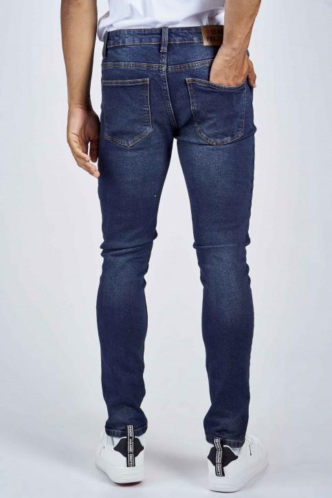 DENIM PROJECT Jeans slim denim DP1000045_045 VINTAGE BLU img3