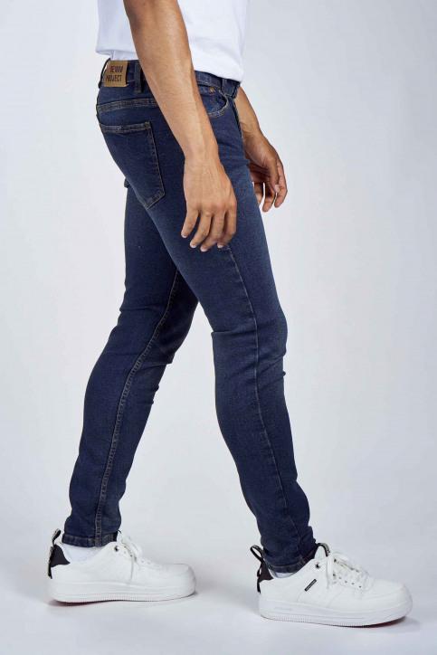 DENIM PROJECT Jeans slim denim DP1000045_045 VINTAGE BLU img4