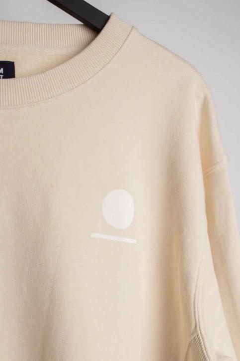 DENIM PROJECT Sweaters met ronde hals beige DP5015_128 IVORY img2