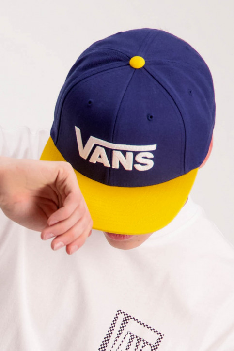 Vans Petten blauw DROP V2 SNAPBACK_DRESS BLUES img1