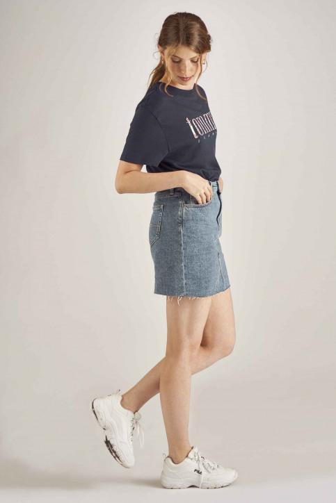 Tommy Jeans T-shirts (manches courtes) bleu DW0DW06713_002 BLACK IRIS img2