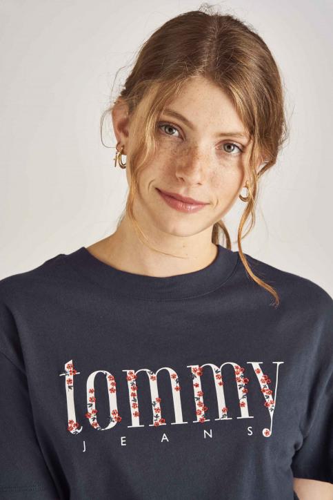 Tommy Jeans T-shirts (manches courtes) bleu DW0DW06713_002 BLACK IRIS img3