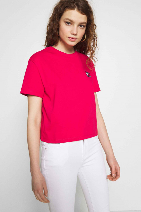 Tommy Jeans Tops (autres) rouge DW0DW06813XIF_XIF BLUSH RED img1