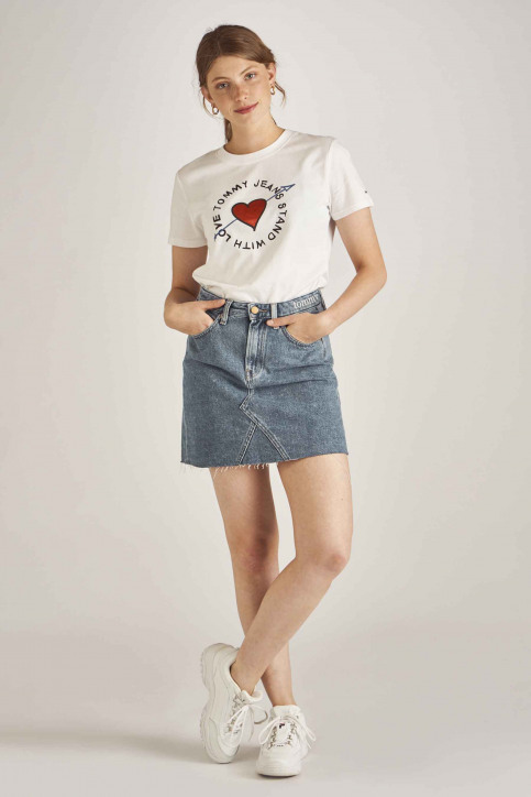 Tommy Jeans T-shirts (korte mouwen) wit DW0DW06927_100 CLASSIC WHI img2