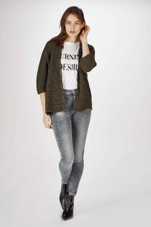 Jeans skinny gris DW0DW07657_1A5 CHRISTAL CL img1