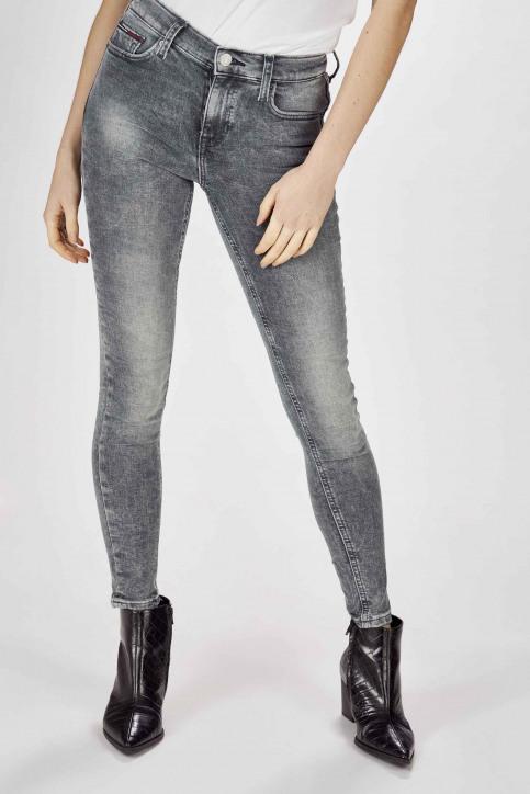 Jeans skinny gris DW0DW07657_1A5 CHRISTAL CL img2