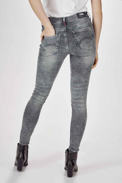 Jeans skinny gris DW0DW07657_1A5 CHRISTAL CL img3