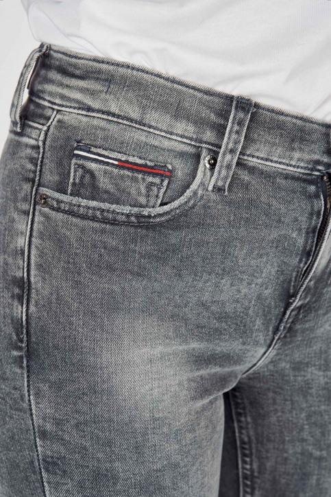 Jeans skinny gris DW0DW07657_1A5 CHRISTAL CL img4