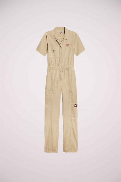 Tommy Jeans Jumpsuits beige DW0DW081921CD_1CD SILT CANVAS img6