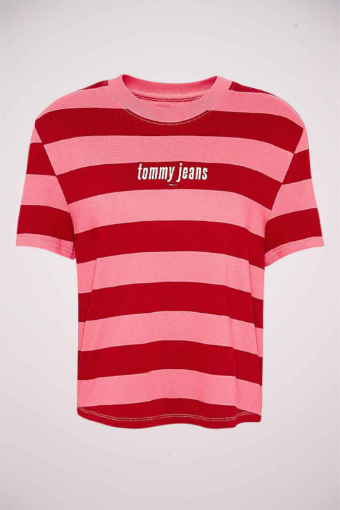Tommy Jeans T-shirts (korte mouwen) multicolor DW0DW086650D9_0D9 GLAMOUR PIN img5