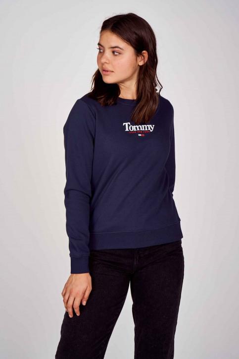 Sweaters met ronde hals blauw DW0DW08973C87_C87 TWILIGHT NA img1