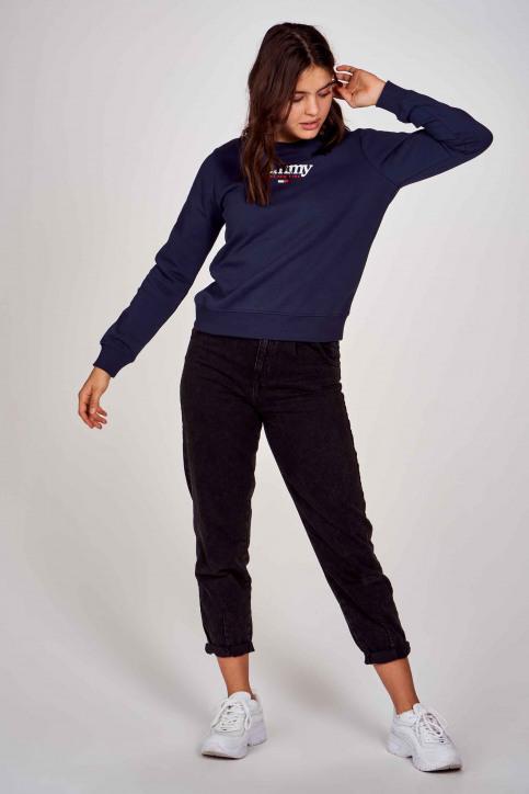 Sweaters met ronde hals blauw DW0DW08973C87_C87 TWILIGHT NA img2