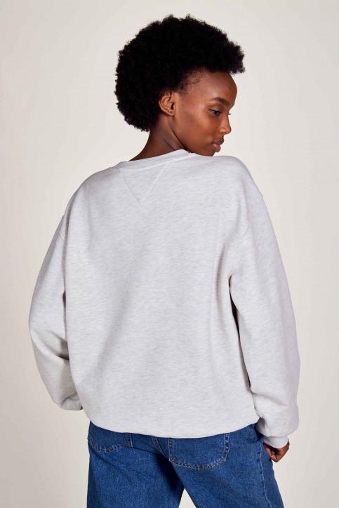 Sweaters met kap wit DW0DW08981PJ4_PJ4 SILVER GREY img3