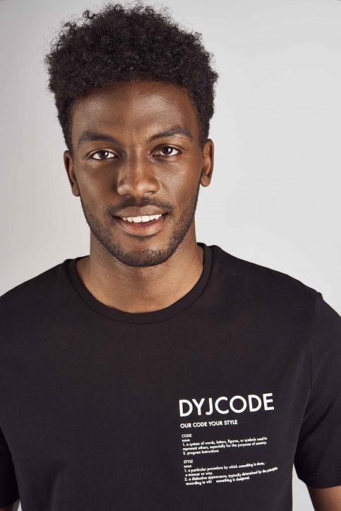 DYJCode T-shirts (manches courtes) noir DYJ192MT 011_BLACK img4