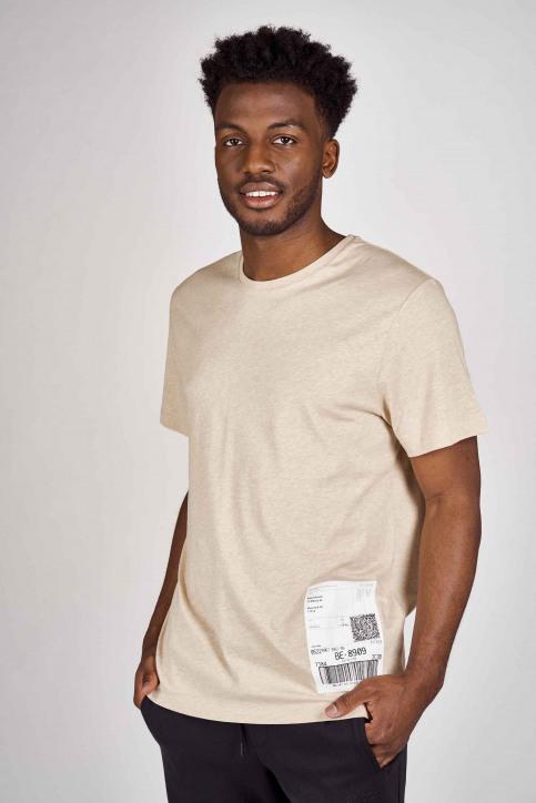 DYJCode T-shirts (korte mouwen) beige DYJ201MT 013_SAND img1