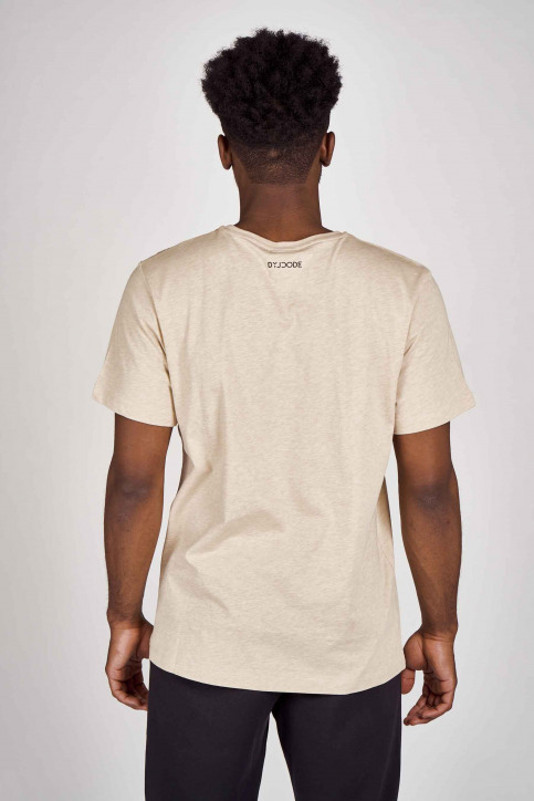DYJCode T-shirts (korte mouwen) beige DYJ201MT 013_SAND img3