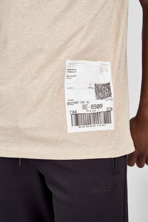 DYJCode T-shirts (korte mouwen) beige DYJ201MT 013_SAND img4