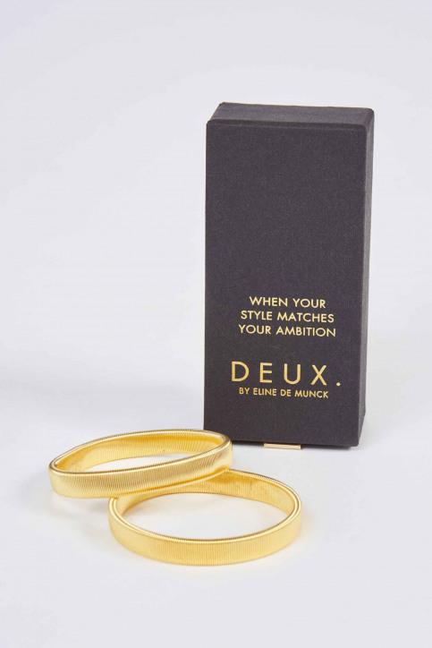 DEUX. by Eline De Munck Bracelets jaune EDM191WA 008_GOLD img1