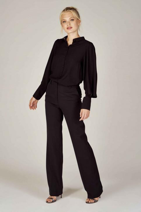 DEUX. by Eline De Munck Pantalons de costume noir EDM191WT 035_BLACK img1