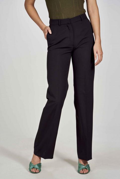DEUX. by Eline De Munck Pantalons de costume noir EDM191WT 035_BLACK img2