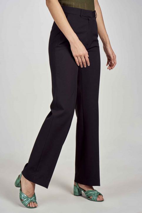 DEUX. by Eline De Munck Pantalons de costume noir EDM191WT 035_BLACK img3
