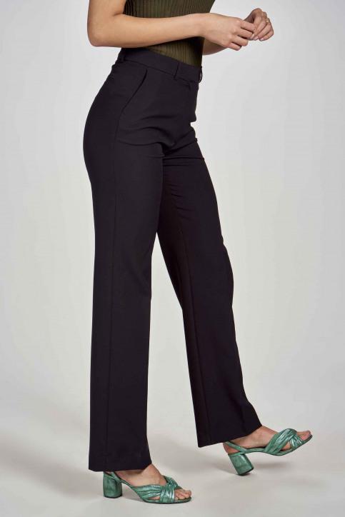 DEUX. by Eline De Munck Pantalons de costume noir EDM191WT 035_BLACK img4