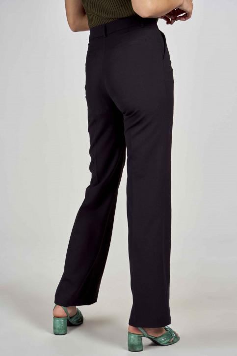 DEUX. by Eline De Munck Pantalons de costume noir EDM191WT 035_BLACK img5