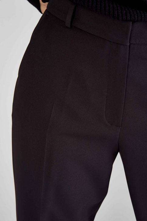 DEUX. by Eline De Munck Pantalons de costume noir EDM191WT 035_BLACK img9