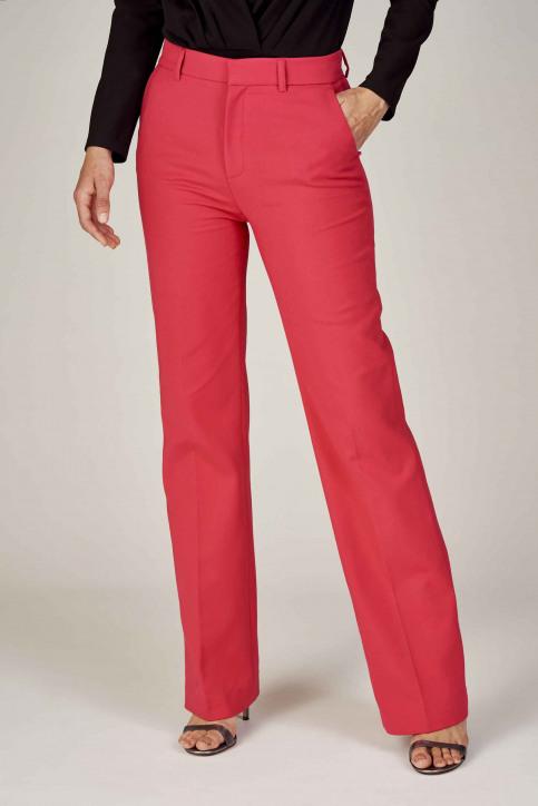 Deux Pantalons colorés rose EDM192WT 011_HOT PINK img2