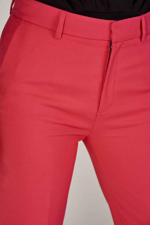 Deux Pantalons colorés rose EDM192WT 011_HOT PINK img4