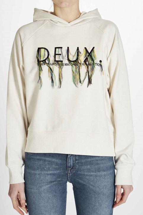 Deux Sweaters met kap wit EDM201WT 023_OFF WHITE img7