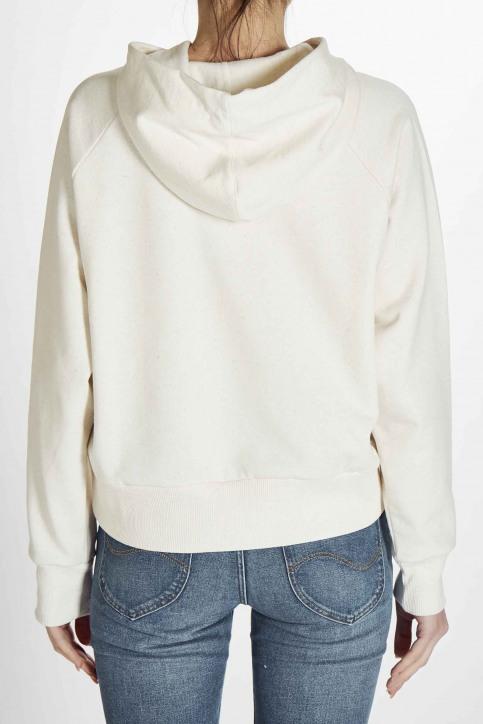 Deux Sweaters met kap wit EDM201WT 023_OFF WHITE img8