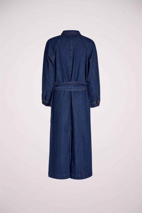 DEUX. by Eline De Munck Lange jassen denim EDM211WT 001_MID BLUE img5