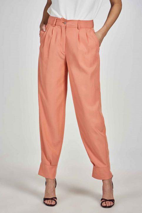 Deux Kostuumbroeken oranje EDM211WT 005_PEACH APPEL img3