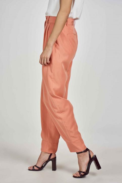 Deux Kostuumbroeken oranje EDM211WT 005_PEACH APPEL img4