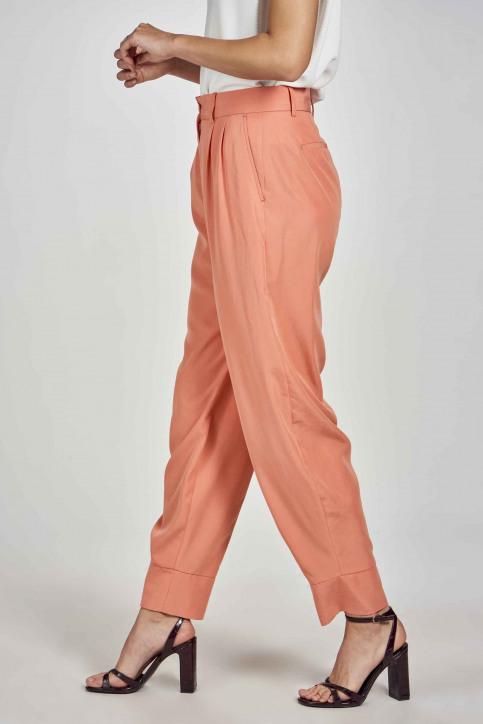 Deux Kostuumbroeken oranje EDM211WT 005_PEACH APPEL img5