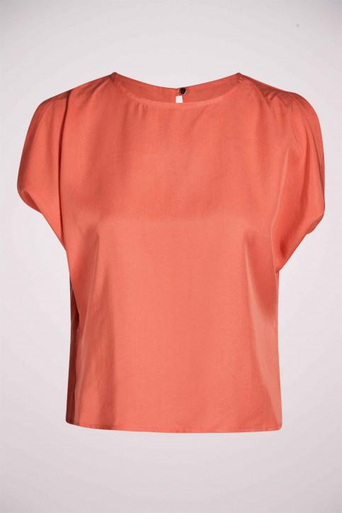 Deux Blouses (zonder mouwen) oranje EDM211WT 030_PEACH APPEL img4