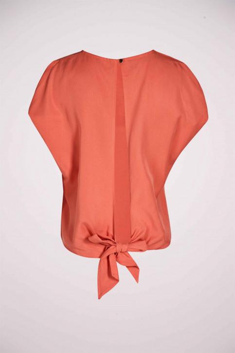 Deux Blouses (zonder mouwen) oranje EDM211WT 030_PEACH APPEL img5